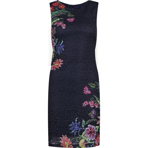 e57c82a7fb Sukienka Desigual na uczelnię w kwiaty w Domodi