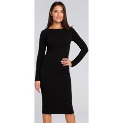 50039d5a20 Sukienka Style elegancka dzianinowa bez wzorów