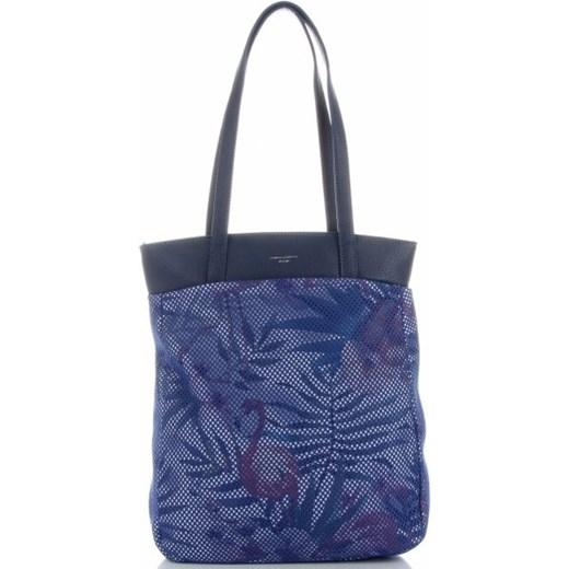 Shopper bag David Jones na ramię w Domodi