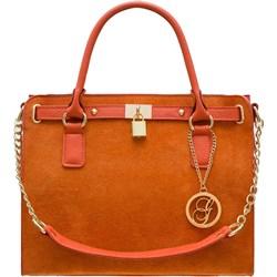 2ef1236f67ae7 Pomarańczowe torebki damskie