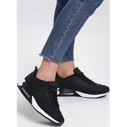 b565523567f5 Buty sportowe damskie Renee sneakersy młodzieżowe wiązane gładkie płaskie