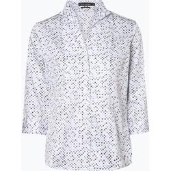 14a67dbc0ee237 Biała koszula damska Franco Callegari z długimi rękawami