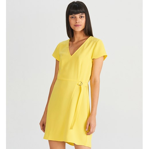 0bf9a8eb48 Sukienka żółta Reserved  Sukienka Reserved