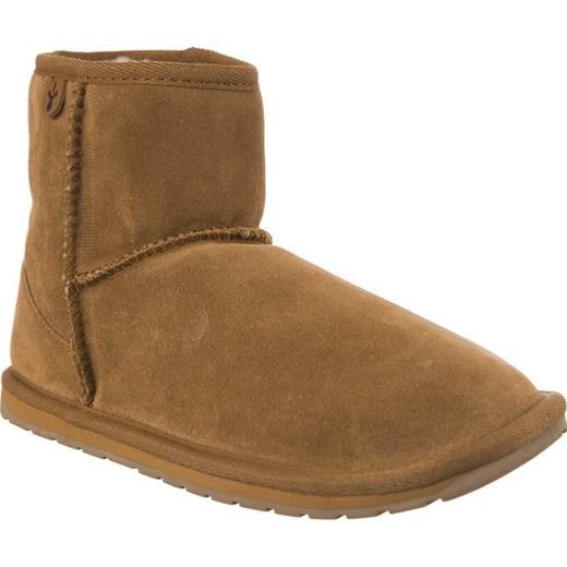 99747806e3a31 Buty zimowe dziecięce Emu Australia bez zapięcia brązowe wełniane w ...
