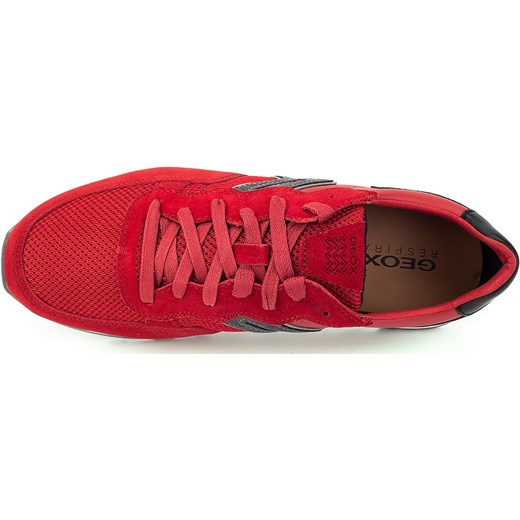 buty męskie geox respira czerwone