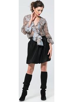 Jedwabna elegancka bluzka  Ola Melcer  - kod rabatowy
