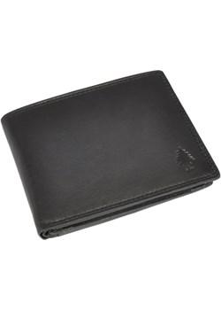 SHOT! 154 czarny portfel skórzany   wyprzedaż daag  - kod rabatowy
