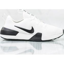0ab164daccc09 Buty sportowe damskie Nike do koszykówki białe bez wzorów na płaskiej  podeszwie sznurowane