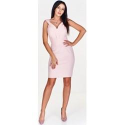 be2e81617a Sukienka Mally mini na wiosnę bez wzorów na wesele