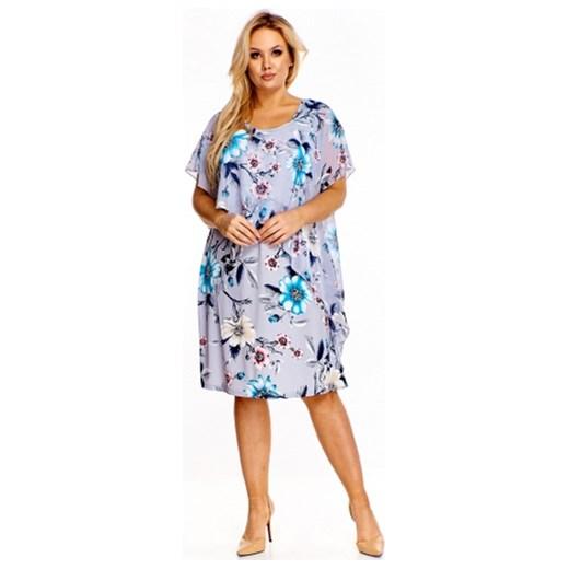 96ea1774eb Sukienka Jarex Collection asymetryczna na spacer casual w Domodi