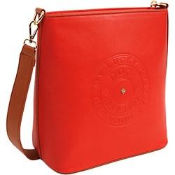 5044d1ee7c6c2 Czerwone torebki damskie genuine leather na ramię