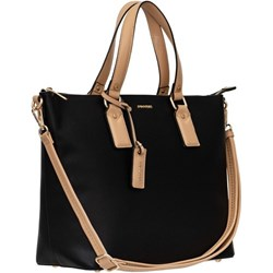757a9f54038b9 Shopper bag Puccini mieszcząca a7 elegancka bez dodatków zamszowa