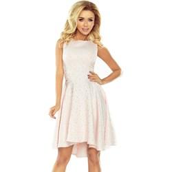 c58e26af91 Sukienka Numoco asymetryczna elegancka mini