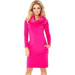 fd934c0821 Sukienka Numoco midi z tkaniny do pracy