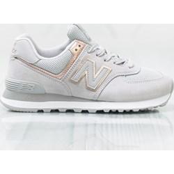 e58da58d44c1a Buty sportowe damskie New Balance new 575 białe płaskie bez wzorów