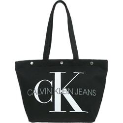76bb781a94680 Shopper bag Calvin Klein bez dodatków elegancka