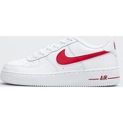 7bff5516 Buty sportowe damskie Nike do biegania air force białe płaskie bez wzorów1