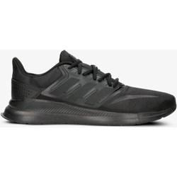 83657f65fb74f6 Buty sportowe męskie czarne Adidas wiązane