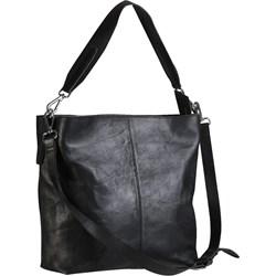 3c58797115498 Shopper bag David Ryan ze skóry na ramię lakierowana