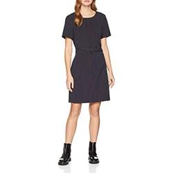 2ef61f885 Sukienka Vero Moda do pracy z okrągłym dekoltem z krótkim rękawem bez wzorów