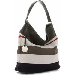 8787e6fd9b952 Shopper bag Diana&Co z breloczkiem duża
