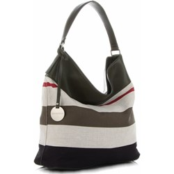 0ea32f0877471 Shopper bag Diana Co na ramię elegancka