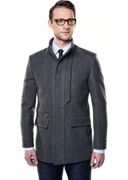 płaszcz regola szary  Recman  okazyjna cena  - kod rabatowy