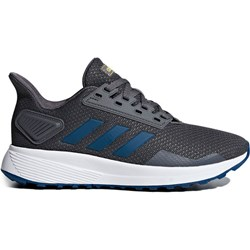 dcecc70910b235 Buty sportowe damskie Adidas do biegania bez wzorów sznurowane płaskie