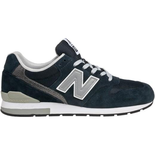 Buty sportowe męskie New Balance sznurowane zamszowe