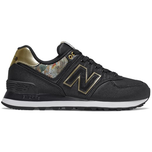 17281483e06f6f Buty sportowe damskie New Balance w stylu casual czarne bez wzorów w ...