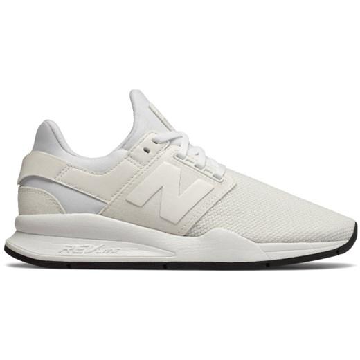 a60faa00208355 New Balance buty sportowe damskie w stylu casual sznurowane bez wzorów  płaskie