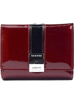 Mały damski portfel skórzany Lorenti 15-09-SH R  Lorenti Galmark - kod rabatowy