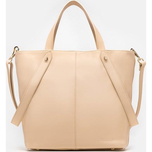 5c238b11c88ee Shopper bag Kazar duża elegancka na ramię w Domodi