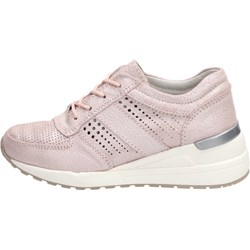 d5e042a07a31 Sneakersy damskie Vinceza sznurowane gładkie skórzane