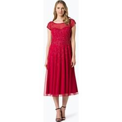 b57dfb24ab63 Sukienka Vera Mont Collection na bal gorsetowa wiosenna midi