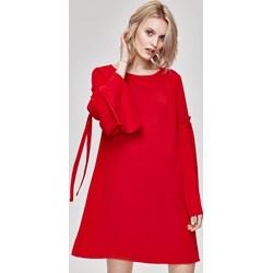 e8d2dd4f51 Sukienka Femestage z długim rękawem oversize z elastanu casualowa