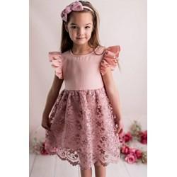 799b8c36d1 Sukienka dziewczęca Lily Grey bawełniana na wiosnę