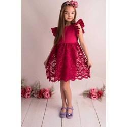 8c16b9c23c Sukienka dziewczęca Lily Grey z bawełny