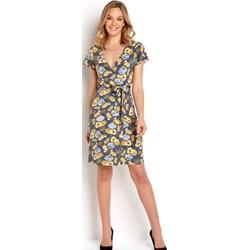 520b35e6b3 Sukienka Happy Holly na co dzień jerseyowa z krótkimi rękawami