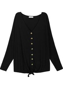 Duży rozmiar Sweterek z guziczkami   kafrim.pl - kod rabatowy