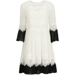eef1dce145bd Sukienka Twinset na sylwestra midi z długim rękawem