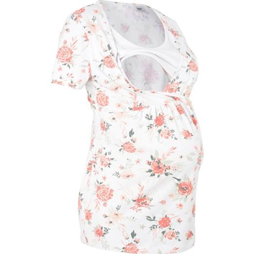 7db979a5 Shirt ciążowy i do karmienia BPC Collection bialy bonprix