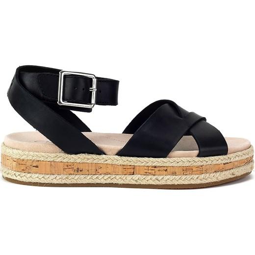 4a4906ee11ab Clarks sandały damskie z klamrą casualowe w Domodi