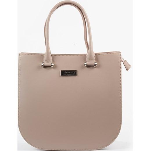 debcc38884c6e Shopper bag Oleksy bez dodatków w Domodi