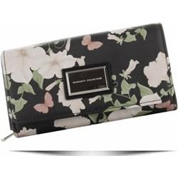 083903444e11f Portfel damski Diana&Co w kwiaty w stylu glamour