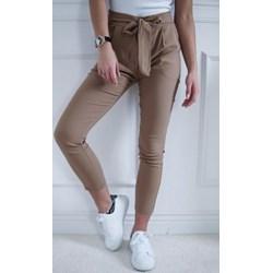 48ee974def Spodnie damskie z wiskozy bez wzorów