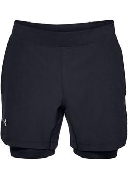 Spodenki męskie Qualifier Speedpocket 2-N-1 Short (black)  Under Armour SPORT-SHOP.pl - kod rabatowy
