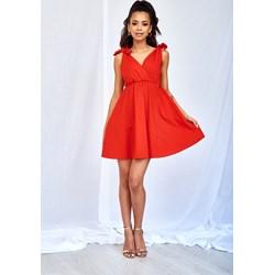 a378ad644e Mosquito sukienka czerwona midi