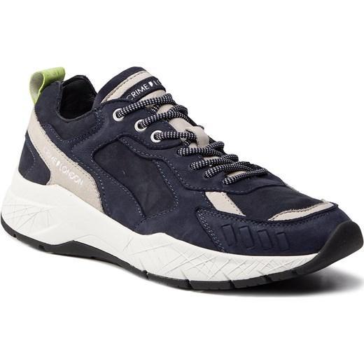 Buty sportowe męskie niebieskie Crime London młodzieżowe