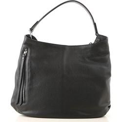 d358d149a53f0 Shopper bag Gianni Chiarini bez dodatków skórzana